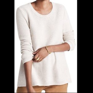👚 Madewell 'Riverside' textured sweater